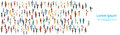 People Group Different Occupation Set, Employees Mix Race Workers Banner Royalty Free Stock Photo