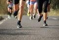 People group jogging, runners team