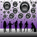 People having a party Royalty Free Stock Photo