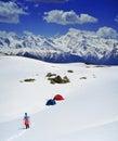 People Hiking  On Snow , Svane...