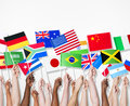 People Holding Flags Of Their ...