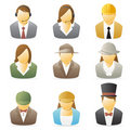 People Icon: Occupations set 2 Royalty Free Stock Photo