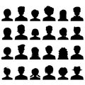 People Icon Silhouette Royalty Free Stock Photo