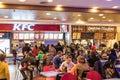 People At KFC Restaurant