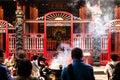 People at Lungshan Temple of Manka, Taipei, Taiwan