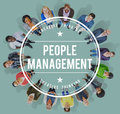 People Management Manpower Occupation Employee Concept