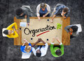 People in a meeting and organisation concepts Royalty Free Stock Photo