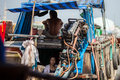 People of mekong delta cai be vietnam district tien giang province town floating market south local at the market on Stock Photography