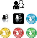 People networking icon symbol Stock Photo