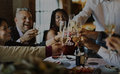 People Party Celebration Drinks Cheers Happiness Concept Royalty Free Stock Photo