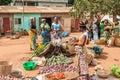 People in PORTO-NOVO, BENIN Royalty Free Stock Photo
