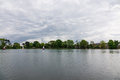 People practicing sailing on a Spring day in South Norwood lake