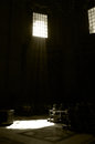 People Praying inside St. Peter Church, Vatican Cathedral, Rome Royalty Free Stock Photo