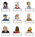 People professions 2 Royalty Free Stock Image