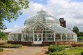 People s palace and winter gardens glasgow the glasshouse which is part of the museum in green a public park in scotland Royalty Free Stock Image