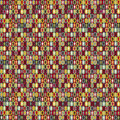 People seamless pattern Royalty Free Stock Photography