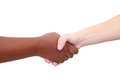 People shaking hands Stock Image