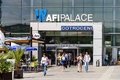 People Shopping in AFI Palace Bucharest Mega Mall Royalty Free Stock Photo