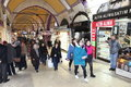 People shopping in the Grand Bazaar, Istanbul Stock Photography