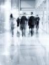 People Silhouettes Walking