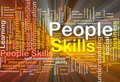 People Skills Background Conce...