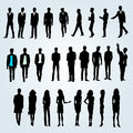 People team group of businessmen and businesswomen Royalty Free Stock Photography