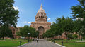 People at texas state capitol in austin jul unidentified entrance of on july has square ft of floor Royalty Free Stock Photo