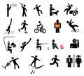 People - vector icons Royalty Free Stock Photography