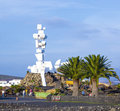 People visit memorial el campesino lanzarote spain january on january in lanzarote spain was formend by caesar Stock Photo