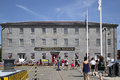 People visit USS Constitution Museum Royalty Free Stock Photo