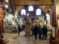 People are walking in grand bazaar in istanbul turkey Royalty Free Stock Photography