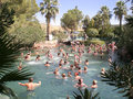 People water resort having fun at a in turkey Stock Images