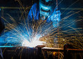 People welding industry Royalty Free Stock Photo