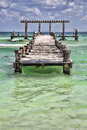 People On A Wooden Pier