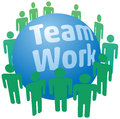 People work in teamwork team join together to a Royalty Free Stock Photo