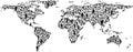 People World Map