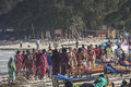 People on Zanzibar beach