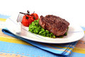Pepper Steak Dinner Royalty Free Stock Images