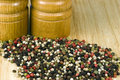 Peppercorns - multi color Stock Photography
