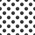 Peppercorns on a plate pattern vector