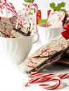 Peppermint Bark Stock Photography