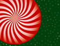 Peppermint Candy Christmas Background Stock Images