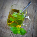 Peppermint tea Royalty Free Stock Photo