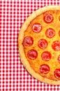 Pepperoni Pizza Half