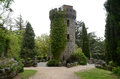 Pepperpot powerscourt garden tower valley in the gardens wicklow ireland tower was modelled on a from lord powerscourt's Royalty Free Stock Image