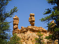 Pepperpot Rocks in Red Canyon National Park, Utah, USA Royalty Free Stock Photo