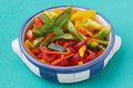 Peppers salad Royalty Free Stock Photography