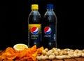Pepsi and pepsi twist Royalty Free Stock Photo