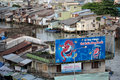 Pepsi vietnam my tho february billboard on the bank of mekong river canal billboard on the bank of mekong river canal my tho Stock Photography