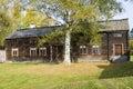 Per-Nilsas dwelling house Delsbo Royalty Free Stock Photo